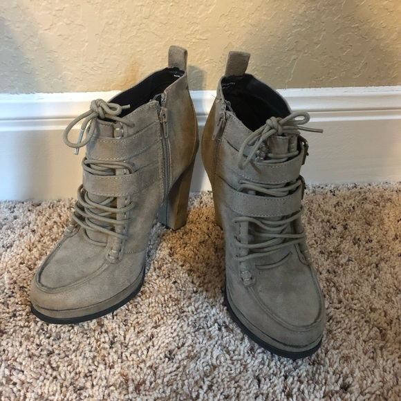 "Mossimo Supply Co. Shoes - 4"" heeled boots"